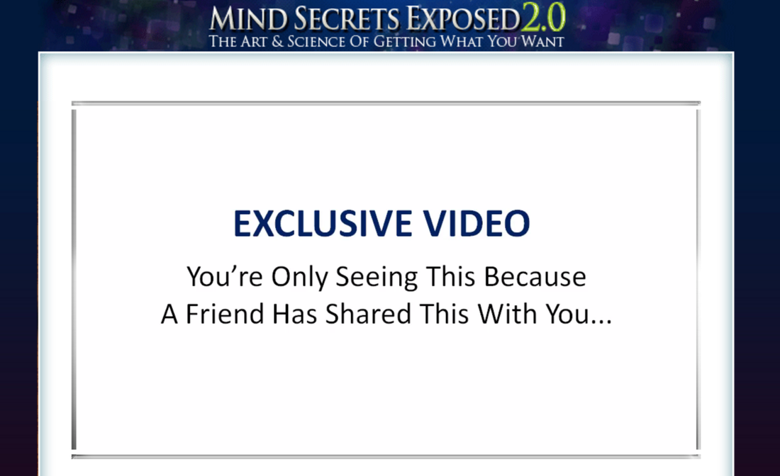 Mind secrets exposed 2.0 review