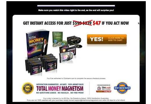 total money magnetism pricing